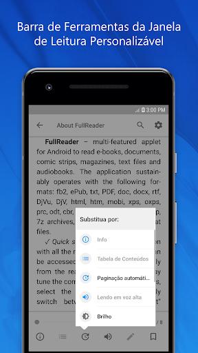 FullReader - leitor de livros eletrônicos