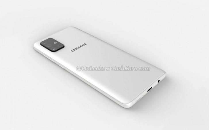 Galaxy A71 tem imagens vazadas