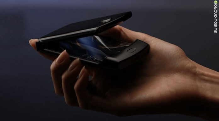 Nova Versão do Motorola V3, o RAZR 2019 é Flagrado em Foto capa