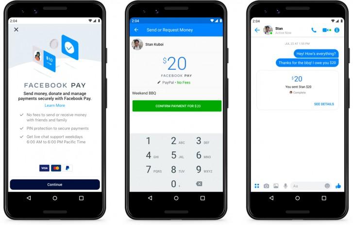 O Facebook Pay por enquanto só está disponível nos Estados Unidos