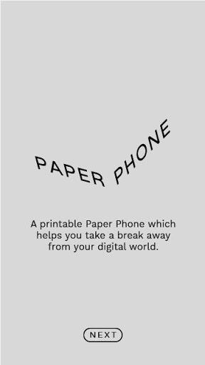 Paper Phone