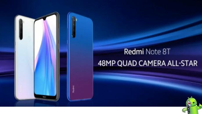 Redmi Note 8T é anunciado com Snapdragon 665 e 4GB de RAM