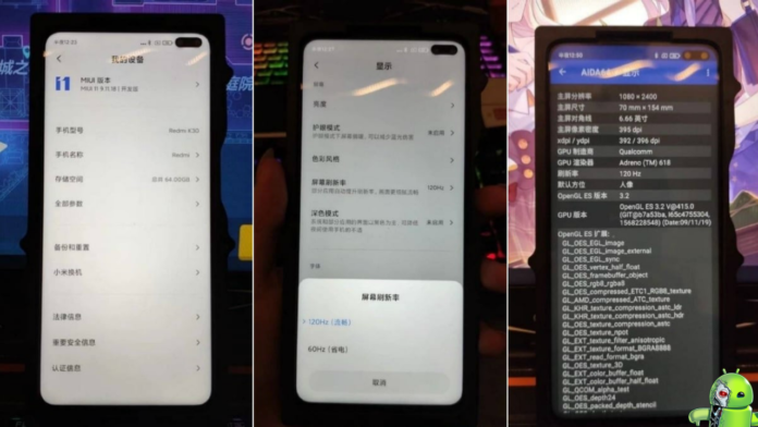 Variante 4G do Redmi K30 tem especificações vazadas