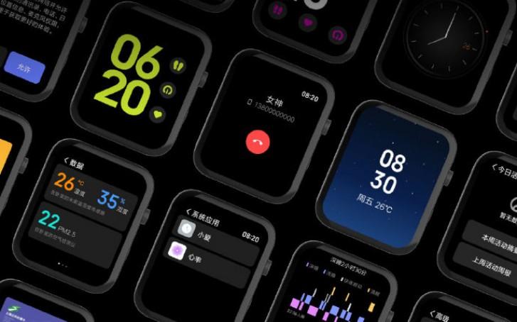 Xiaomi Mi Watch é lançado oficialmente junto com o Mi CC9