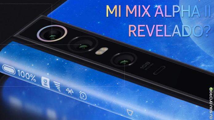 Xiaomi Registra Design de Possível Mi Mix Alpha II CAPA