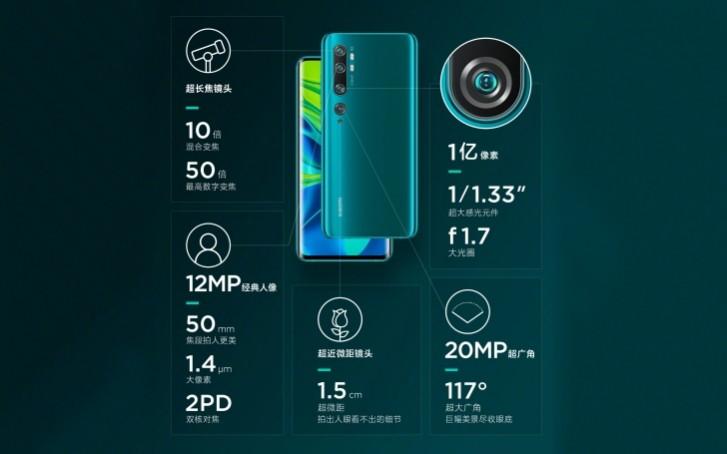 Xiaomi-lança-Mi-CC9-Pro-Com-108-Megapixels-e-5-Câmeras-1