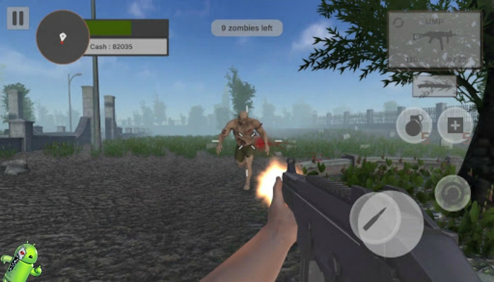 Zombie Hunter: Zombie Apocalypse Survival Game 3D