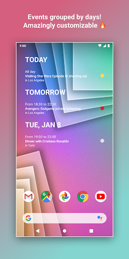Calendar Widget by Home Agenda