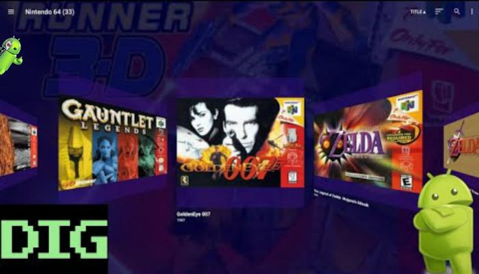 Dig - Emulator Front-End