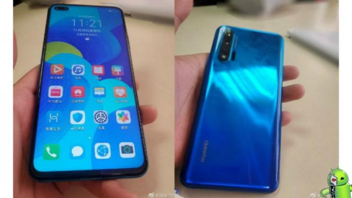 Huawei Nova 6 5G aparece em fotos reais