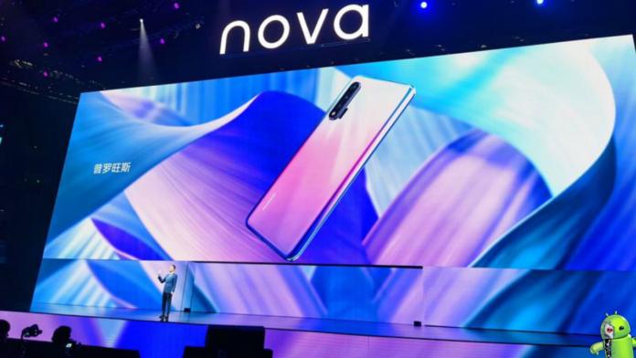 Huawei Nova 6 5G e Nova 6 SE São Lançados oficialmente