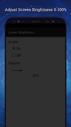 Lower Brightness Screen Filter