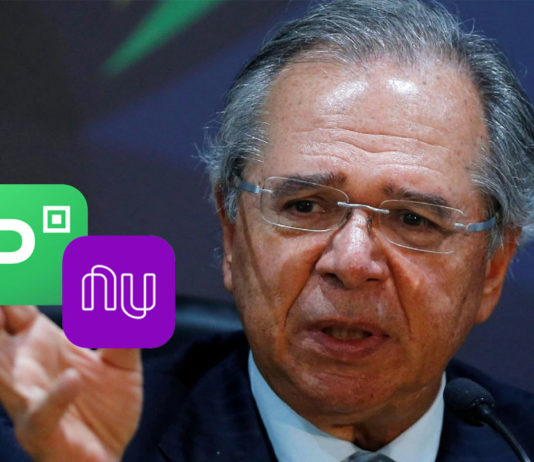 Paulo Guedes Quer Cobrar Impostos Sobre Transações Bancárias via Celular capa