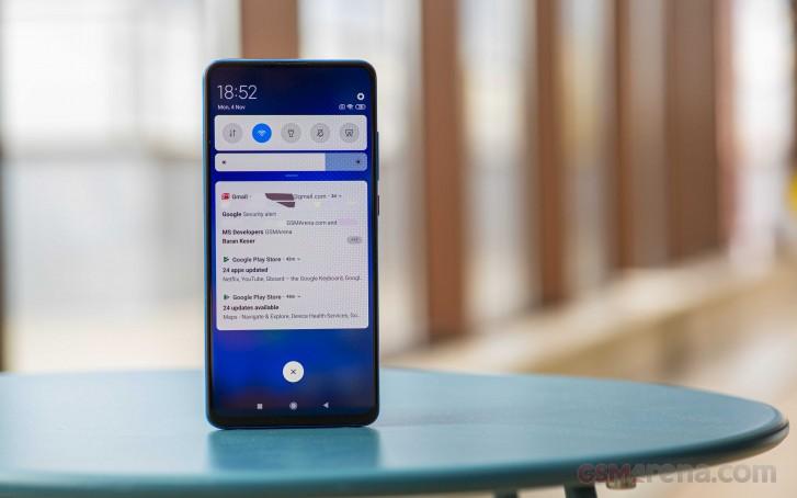 Redmi K20 sendo atualizando para o Android 10
