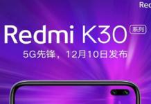 Redmi K30 tem especificações vazadas antes do lançamento