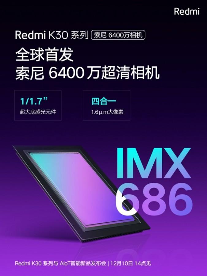Redmi K30 terá variante 5G