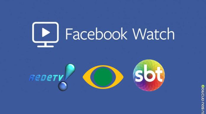 SBT, Band e Rede TV Terão Programas Exclusivos no Facebook Watch! capa