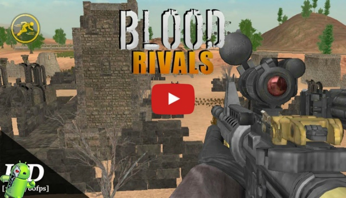 Blood Rivals: Battleground Jogos de Tiro