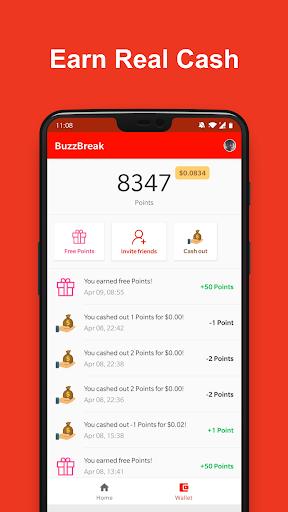 BuzzBreak - Entreterimento & ganhar dinheiro