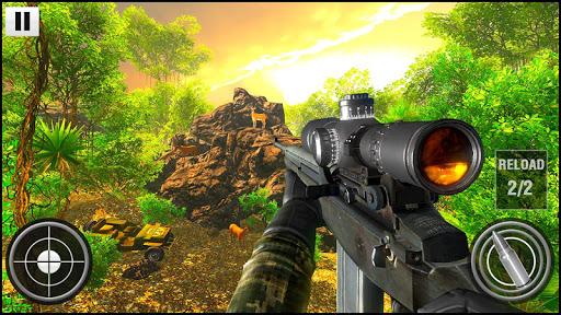 Deer Hunting 2020: veado atirador: jogo de caçador