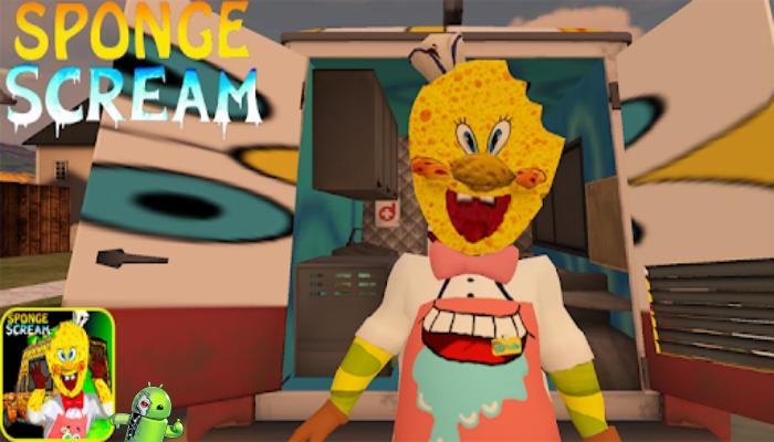 Ice Rod Sponge Cream Horror Neighbor