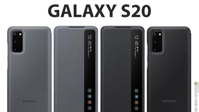 Imagens do Galaxy S20 vazam em 3 cores diferentes CAPA