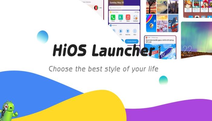 Lançador HiOS 2020 Rápido Suave Estabilizar