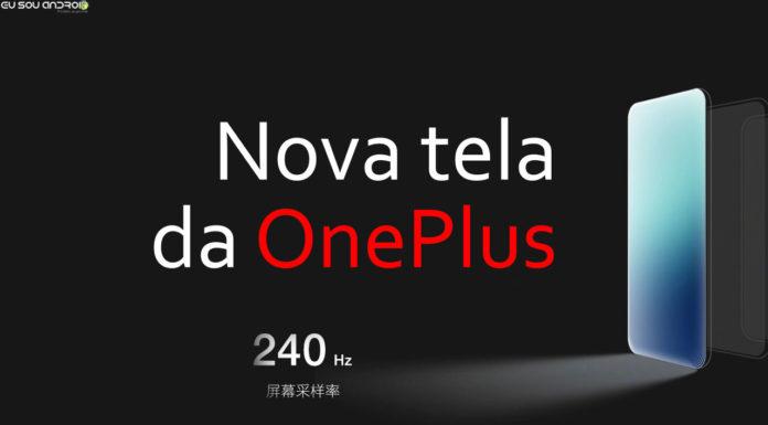 OnePlus confirma que está criando nova tecnologia de tela para celulares capa