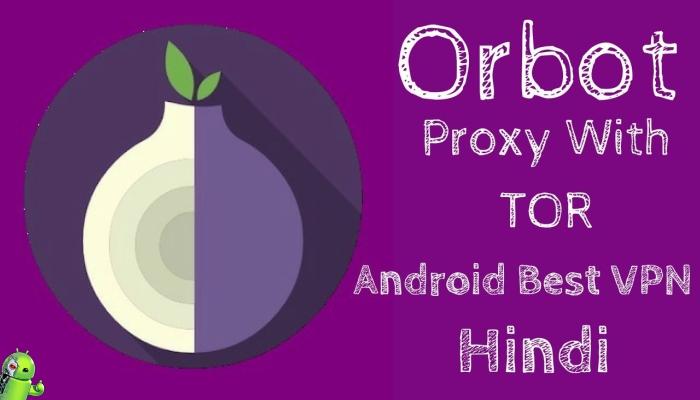 Orbot Proxy com Tor