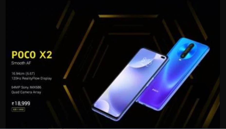 Poco X2 poderá ser lançado oficialmente na Índia