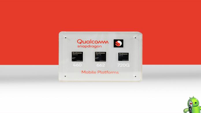 Qualcomm anuncia o Snapdragon 720G, 662 e 460
