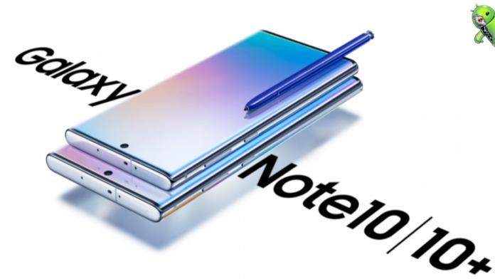Samsung Galaxy Note 10+ 5G é Certificado com 1 TB de armazenamento interno
