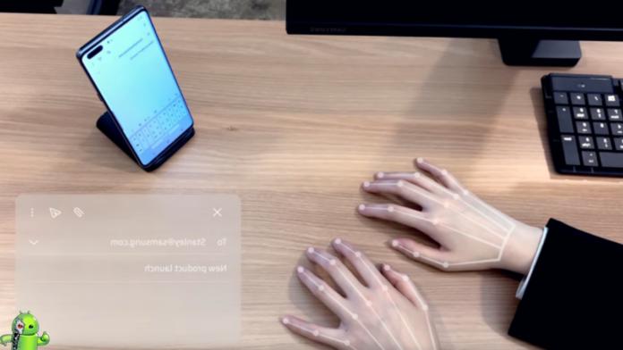 Selfie Type Veja como o Teclado virtual da Samsung funcionará.