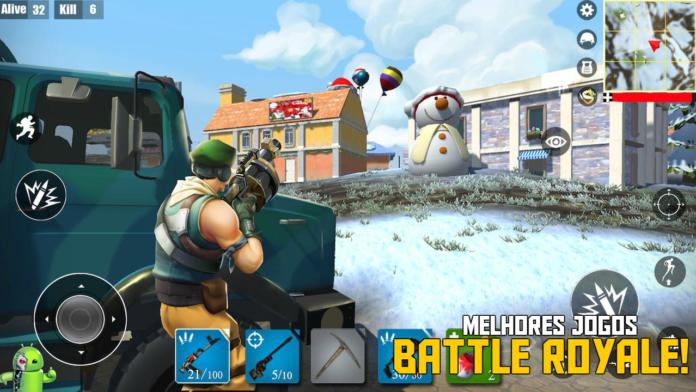 TOP 9 Melhores Jogos Battle Royale para Android 2020