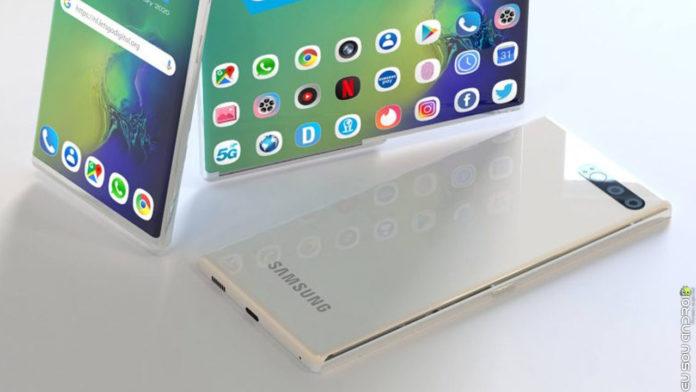 Tela que enrola Samsung Secretamente Mostrou Novo Celular na CES 2020 capa