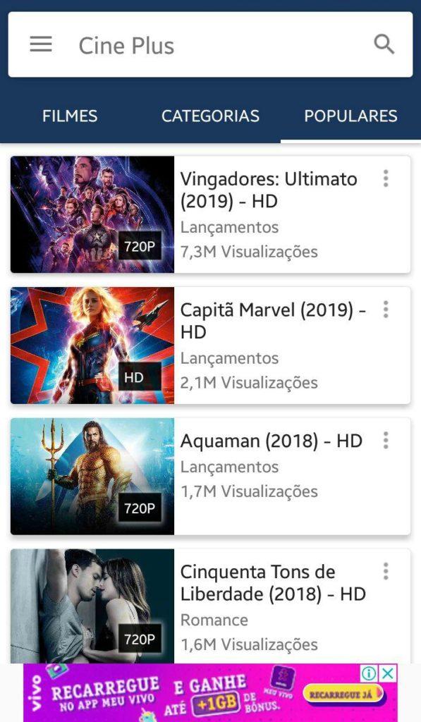 aplicativos para Assistir Tv Online, Filmes e Séries no Android