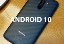 pocophone f1 android 10 CAPA
