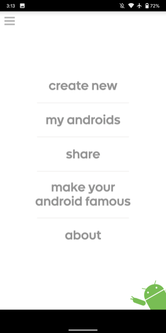 Androidify é removido da Play Store