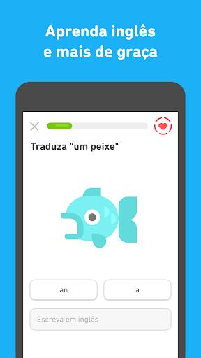 Duolingo: Inglês e Espanhol