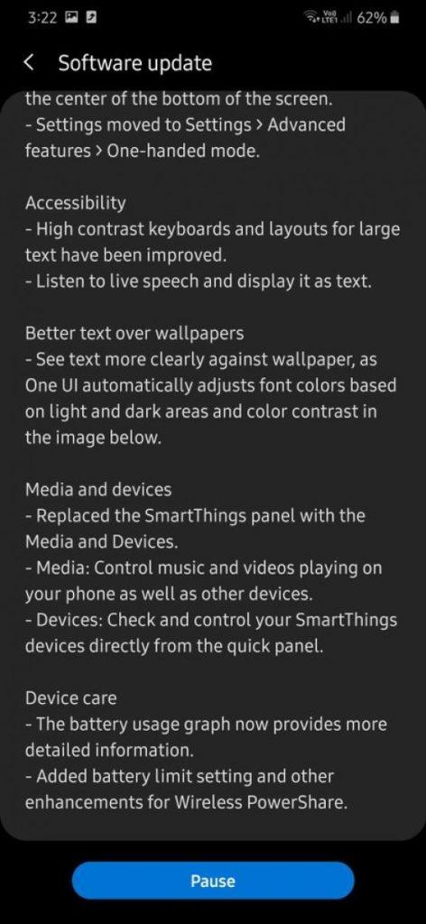 Galaxy A30 começa a receber o Android 10