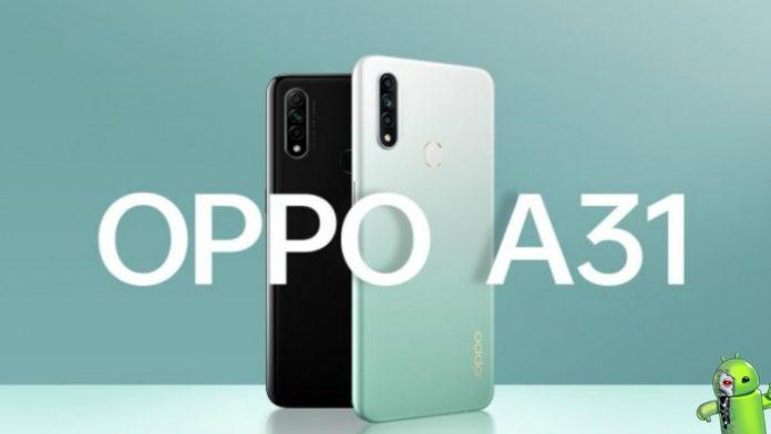 Oppo A31 é Lançado com 4GB de RAM