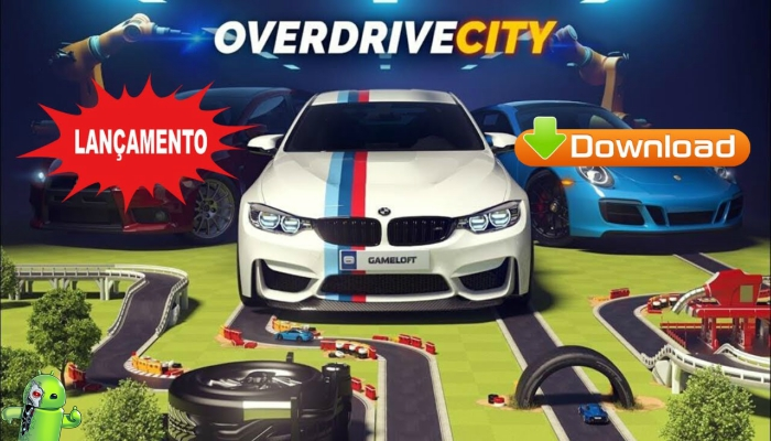 Overdrive City – Construa sua cidade de carros