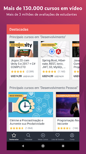 Udemy: aprender online com 130 000 video cursos
