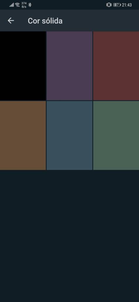 Whatsapp terá 5 novas cores junto do modo escuro