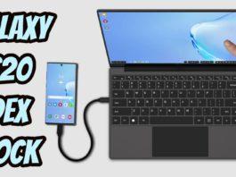 Galaxy S20 transformado em Notebook Poderoso com DexDock