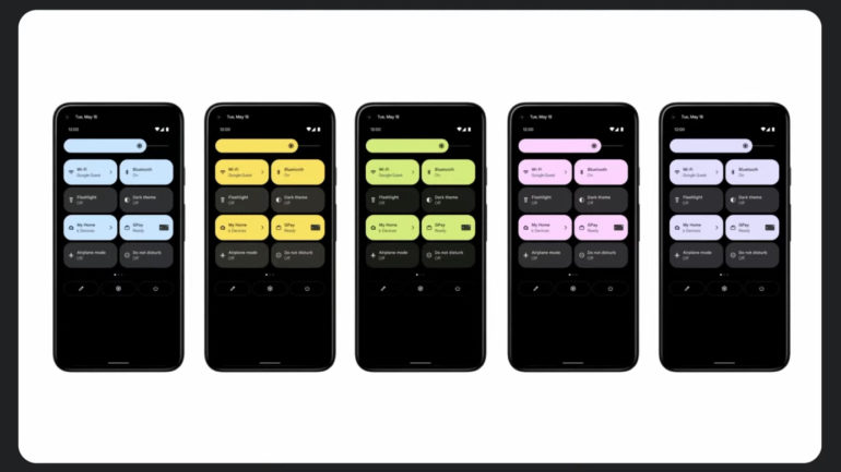 Android 12 ganha nova barra de notificações