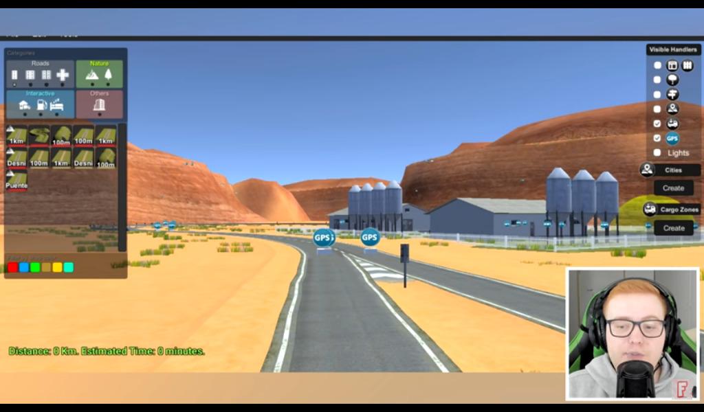 Editor de mapas do Grand Truck Simulator 2