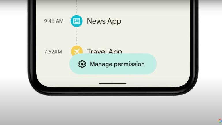 Privacidade e segurança no Android 12