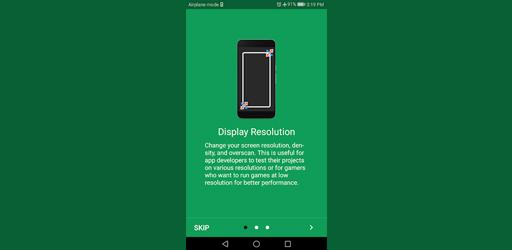 Screen Resolution Changer: Display Size & Density