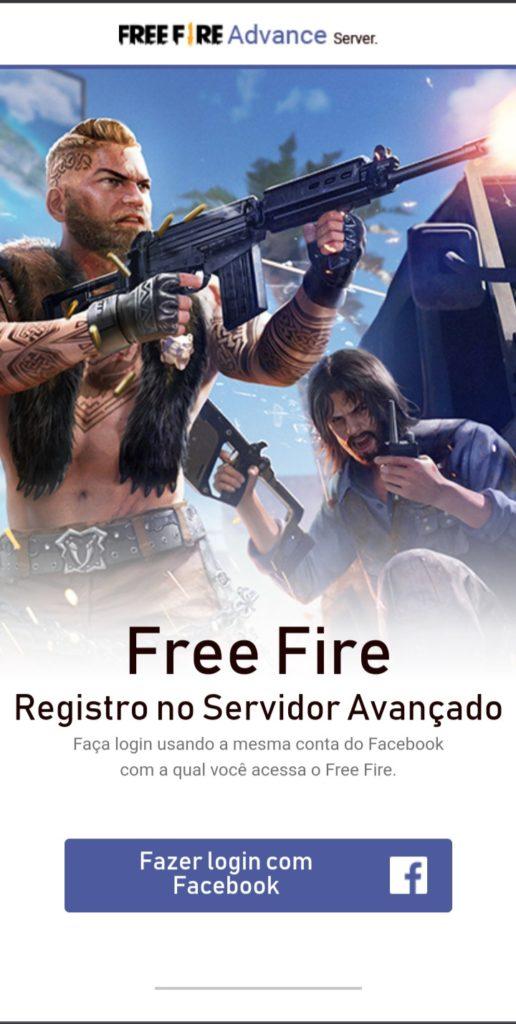 Free Fire Advance já está disponível para os jogadores
